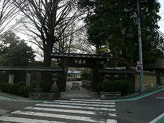 世田谷のお寺?